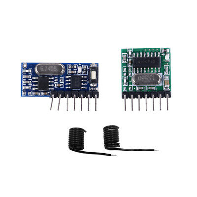 433Mhz Wireless RF 4Channel Output Receiver Module and Transmitter EV1527 Cod td