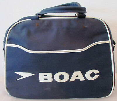 BOAC 1960s Airline Carry Cabin Bag