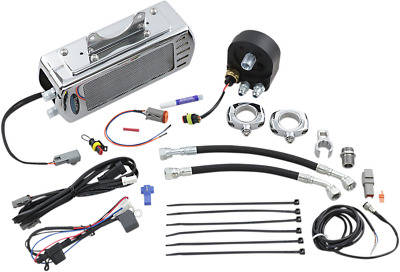 NEW ULTRACOOL SMT-2C Oil Cooler Kits Chrome
