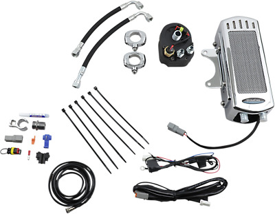 NEW ULTRACOOL SMS-1C Oil Cooler Kits Chrome