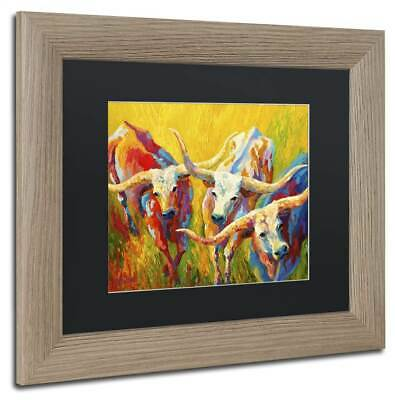 Marion Rose 'Dance of the Longhorns' Wall Art [ID 3658200]