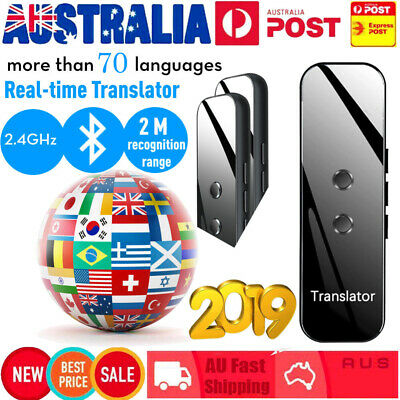 2019 Voice 70 Language Translator Translaty MUAMA Enence Smart Instant Real Time