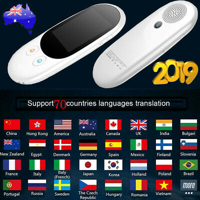 AU 70 Languages Pocket Smart Translator Instant Voice Translation Travel WiFi