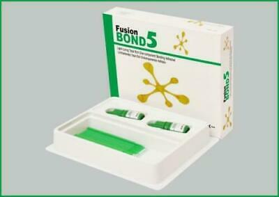 Light Curing Total Etch Dental Bonding Adhesive Fusion Bond 5 (Pack of 2)