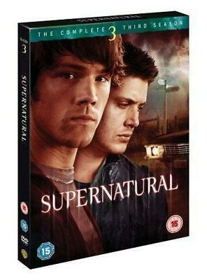 Supernatural - The Complete Third Season [DVD], Good DVD, Misha Collins, Jensen