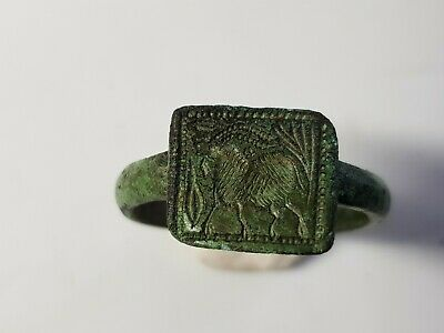 Ancient Greek  Ring with Ibex  4th-2nd  century BC
