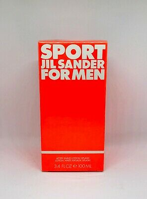 Jil Sander - Sport Jil Sander for Men After Shave Lotion 100ml - New & Rare
