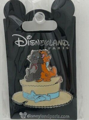 Disney Parks Disneyland Paris The Aristocats - Berlioz Toulouse Chapeau Hat Pin