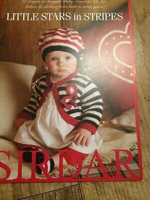 Sirdar Little Hearts /& Kisses Snuggly Baby Bamboo DK Book 443 Patterns 0-7 yrs