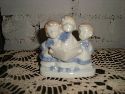 Colonial Candle Choir Porcelain Candlestick Holder Japan