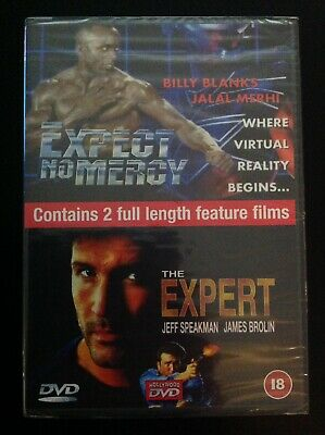 Expect No Mercy / The Expert (DVD, 2002)