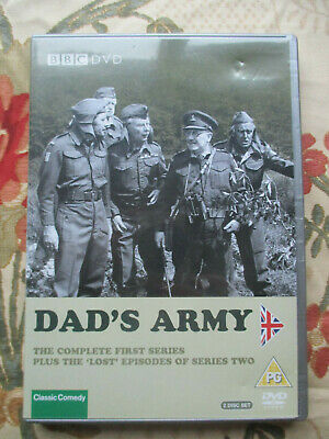 Dad's Army The Complete First Series + The Lost Episodes Of Series Two Bbc Dvd