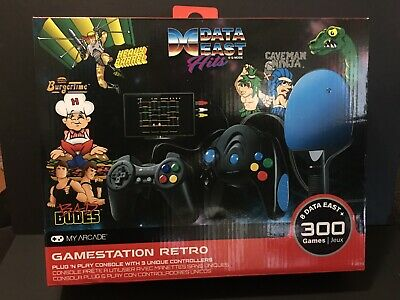 Data East Hits Gamestation Retro 300 Games New In Box NIB My Arcade Video Games