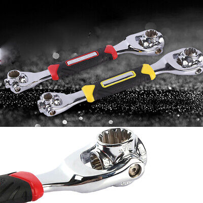 Handle Wrench Socket Car Maintenance Wrench Telescopic Socket Wrenches
