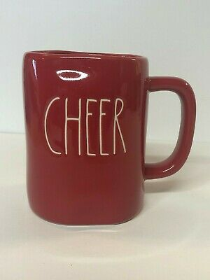 Rae Dunn Red CHEER Mug 2019