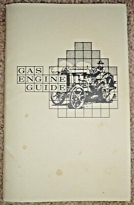 Vintage Gas Engine Guide Book, Manual, Handbook, 9th Reprint 1993