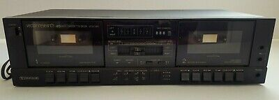 Vector Research Double Cassette Deck Model VCX-345 Tested Works