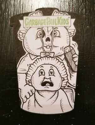 Garbage Pail Kids Revenge Oh The Horrible Sketch Card