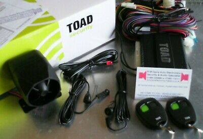 Toad alarm A101cl User manual