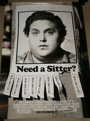 "THE SITTER ""B"" vg 27x40 ORIGINAL D/S MOVIE POSTER"