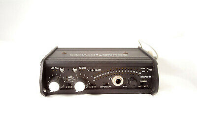 Sound Devices MixPre-D Compact Field Mixer 2ch DSLR Mic PreAmp