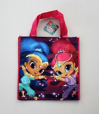 Nickelodeon Reusable Bag Shimmer And Shine Eco Friendly Tote Super Cute!