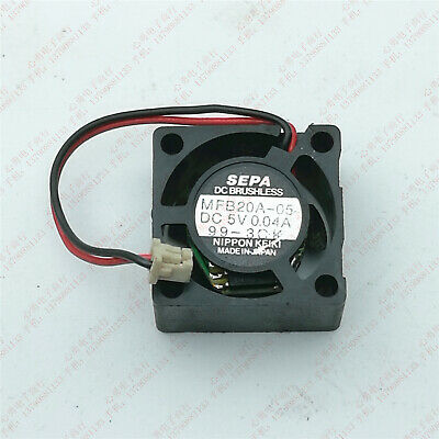 1pcs  SEPA MFB20A-05 5V 0.04A 2010 2CM Notebook Router Cooling Fan