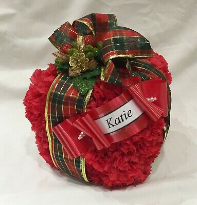 Christmas Artificial Silk Funeral Flower Small Present Memorial Tribute Floral