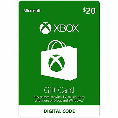 $20 XBOX Live $20 USD Gift Card - XBOX ONE and 360 - 5% off