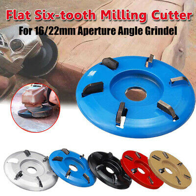 Arc/Flat Plane Teeth Wood Turbo Carving Disc Milling Cutter for Angle Grinder