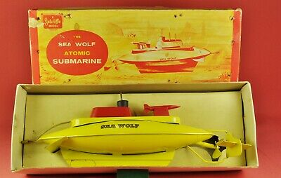 Blechboot / Tin Boat: Sutcliffe Sea Wolf Atomic Submarine / U-Boot, ca. 1950-60