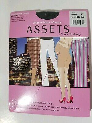 Assets by sara blakely Marvelous Mama Pantyhose Size 4