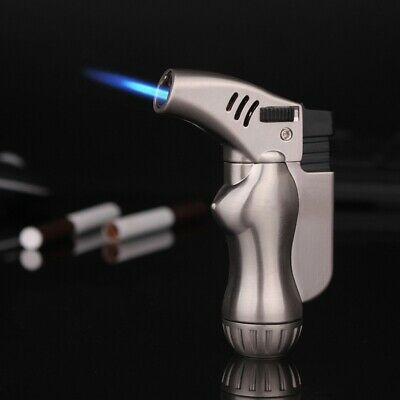 Lighter Torch Butane Jet Windproof Refillable Flame Cigar Cigarette Adjustable