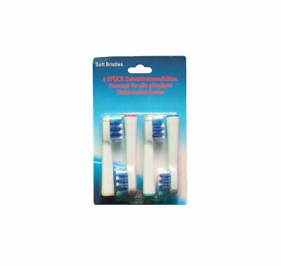 4 x Replacement Toothbrush Heads  Oral B TriZone Electric Compatible with EB-30A