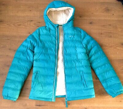 Girls Mountain Warehouse Warm Fur Lined Coat Jacket Size Age 11-12 Years