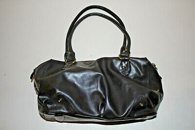 Matt by Matt And Nat Dark Brown Vegan Faux Leather Tote Handbag