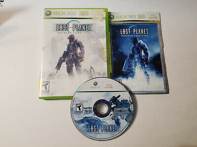 Lost Planet: Extreme Condition (Microsoft Xbox 360, 2007) CIB Complete, tested