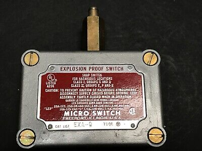 New Micro Switch Exa-Q Explosion Proof Snap Switch Microswitch Exa Q