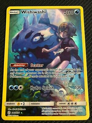 Pokemon : SM COSMIC ECLIPSE WISHIWASHI 240/236 SECRET RARE