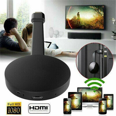 For Chromecast 4th Gen 1080P Digital Streamer HDMI TV Video Media Android iOS