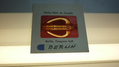 ORIGINAL 1960s PHOTOGRAPHIC SLIDE BERLIN GERMANY, THE CONGRESS HALL