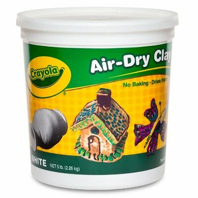 NEW Crayola Air Dry Clay 5 Tub By Spotlight