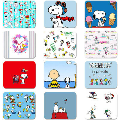 Cartoon Snoopy Pattern Soft Rubber Mouse Pad Laptop Computer PC MousePad 200x240