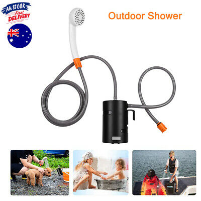 Portable Outdoor Shower USB Rechargeable Battery Powered Shower Pump for Camping