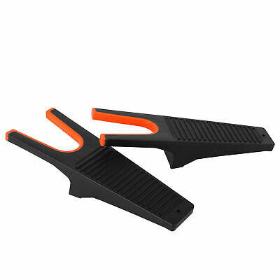 2pcs Heavy Duty Rubber Boot Jack Shoe Remover Boot Puller Scraper Cleaner Grip