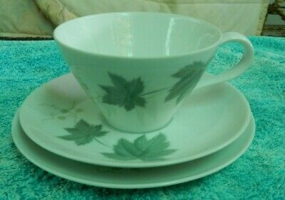 Tea Cup Saucer & Cake Plate Trio RC Japan Fine China suit Collector