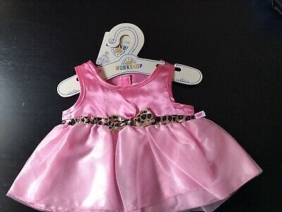 BNWT - Pink Belted  Dress - Build A Bear Genuine Clothes
