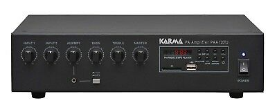 Paa 120TU Amplifier Pa with Radio and mp3