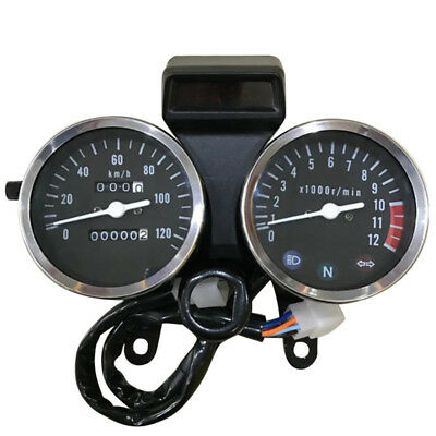 Motorcycle Tachometer For Suzuki Gn125 Speedometer Modified Accessories Count IY