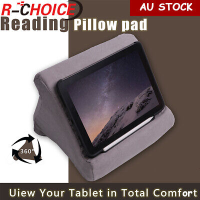 For iPad Foldable Laptop Tablet Pillow PC Holder Rest Reading Cushion Pad 2019